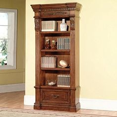 Parker House Grand Manor Granada Museum Bookcase *** See this great product.