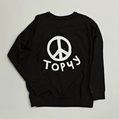 Topчy Sweatshirt Black now featured on Fab.