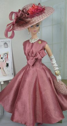Weathered Rose for Silkstone Barbie and by MatisseFashions on Etsy