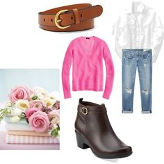 """Birthday ideas, the plain leather belt, boots.new jeans....2014"" by shycoygirl65 on Polyvore"