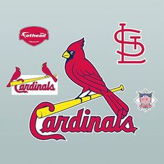 St Louis Cardinals Shower Curtain Set
