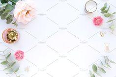 Styled stock photo - scene with rose by FloweretteLV on @creativemarket