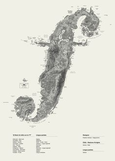 Alphaposter - F / I love detailed maps of landscapes - real or imagined.