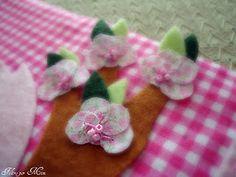 Florzinha em tecido