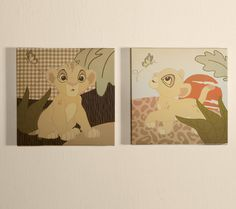 The Lion King Nursery Collection | Disney Baby  Wouldn't have to paint since the walls would already match