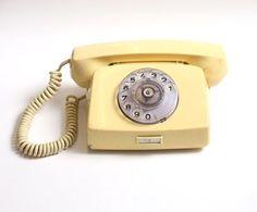 Vintage rotary telephone, vintage telephone, retro phone