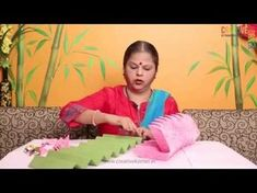 Cheap Home Decorating Websites Eco Friendly Ganpati Decoration, Ganpati Decoration Design, Mandir Decoration, Diwali Decorations, School Decorations, Festival Decorations, Diy Arts And Crafts, Hobbies And Crafts, Decor Crafts