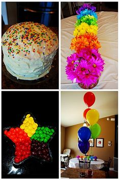 Kids Rainbow Birthday Party