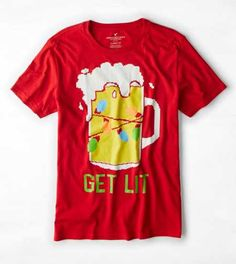 2ce4d28fee14 AEO Get Lit Graphic T-Shirt Aeo
