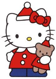 hello kitty emoticons | kittyrulez-hellokitty-christmas-images-2