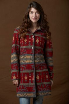 Du Monde Trading Company Up Country Car Coat
