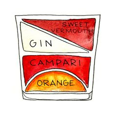 It's perfectly balanced and tastes great: a little bit sweet, a little bit bitter, and a lot bit boozy. | The Negroni Is The Most Important Cocktail