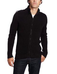 Calvin Klein Jeans Men's Long Sleeve Full Zip Sweater #calvinklein #zip #zipper #sweater #zippersweater #longsleeve #mens