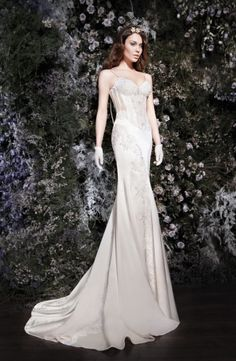 The back of this is just unreal. And the gloves...FUN!! I am LOVING this Israeli Designer ; Galia Lahav -- I have an apt during her US tour for showing/fittings!!! --YAY!!----  The Lourdes Collection by Galia Lahav