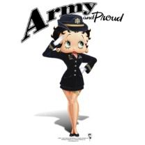 #bettyboop #popfunk http://www.popfunk.com/mens-tees/betty-boop/boop-army-boop.html