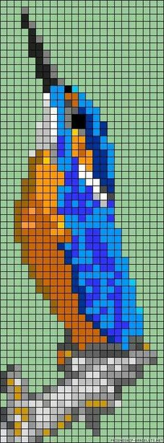 Thrilling Designing Your Own Cross Stitch Embroidery Patterns Ideas. Exhilarating Designing Your Own Cross Stitch Embroidery Patterns Ideas. Cross Stitch Bird, Cross Stitch Animals, Cross Stitch Charts, Cross Stitch Embroidery, Cross Stitch Patterns, Bead Loom Patterns, Perler Patterns, Beading Patterns, Embroidery Patterns