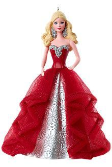 2015 barbie christmas ornament