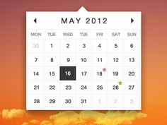 Dribbble - Calendar by Aric User Interface, Mobile App, Pattern Design, Calendar, Menu, Menu Board Design, Mobile Applications, Life Planner