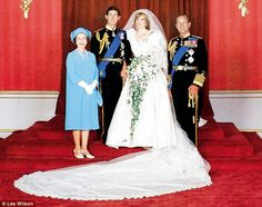 On 29th July 1981 Prince Charles married Lady Diana Spencer at St Paul's Cathedral.