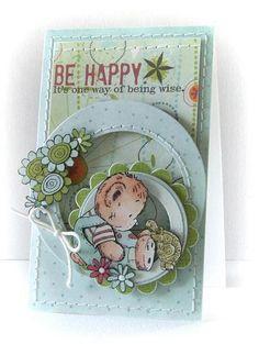 Peets Scrapalbum: Be Happy