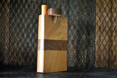WOOD Dugout One Hitter 4 Stash Box by WoodAntler on Etsy