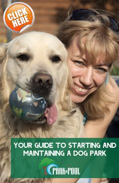 Download Park N Pool's FREE guide to starting your own #dogpark!