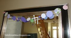 Full of Great Ideas: Decorating for a Party on a Dime (First Communion celebration for my family) - Part 1