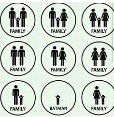 Childfree couples are families too. I hate when people ask if I have a family-of course I do!<<< LGBTQ couples are the best couples ever. Lol I love the batman at the end XD. Lgbt Memes, Dc Memes, Funny Memes, Hilarious Quotes, Childfree, Lgbt Love, Gay Pride, Equality, Funny Pictures