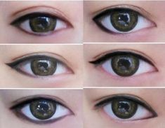 eyeliner styles to make your eyes look bigger