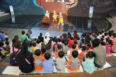 탈춤공연장 어린이 인형극(2016. 10. 7)