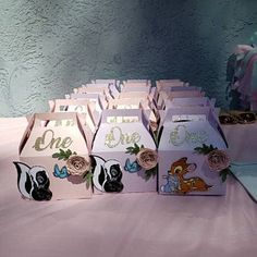 1st Birthday Girl Decorations, 1st Birthday Party For Girls, Fairy Birthday Party, Girl Birthday Themes, Baby Girl Shower Themes, Baby Birthday, Bambi Baby, Favor Boxes, Party Ideas