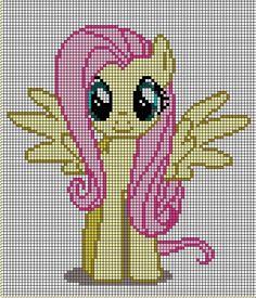 my little pony cross stitch patterns to print fluttershy | little pony