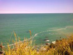 The Abruzzo coast, Italy