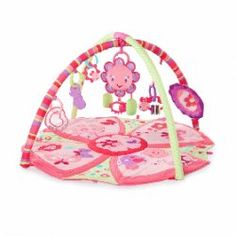 NOW $59.95 (Was $99.95 - Save 40%) on Bright Starts Pretty In Pink Giggle Garden Activity Gym @ The Baby Factory - Bargain Bro