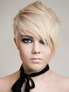Stunning Emo Haircuts for Girls: Very Short Emo Haircuts For Girls With Side Bangs Hipsterwall ~ hipsterwall.com Hairstyles Inspiration