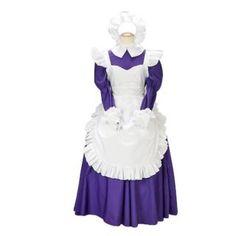 Suzumiya Haruhi Asahina Mikuru Maid Cosplay Costume