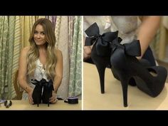 DIY Heel Bow for Shoes #CraftyCreations