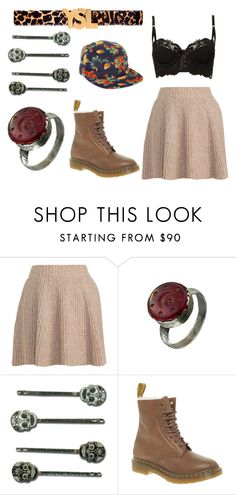 """""""shadows"""" by englishbreakfast ❤ liked on Polyvore featuring Opening Ceremony, Yves Saint Laurent, KENZI, Dr. Martens and ONLY NY"""