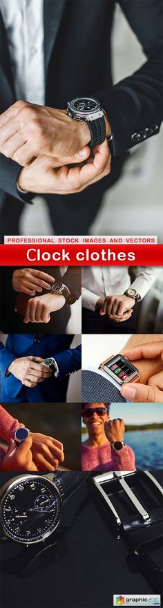 Сlock clothes  8 UHQ JPEG  stock images