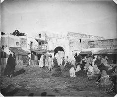 Antonio Cavilla Photographer: Mercado en lugar desconocido.
