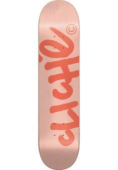 Clich� Handwritten-Classic - titus-shop.com  #Deck #Skateboard #titus #titusskateshop