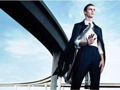 Ben Allen and Janis Ancens captured by Willy Vanderperre for Dior Homme.