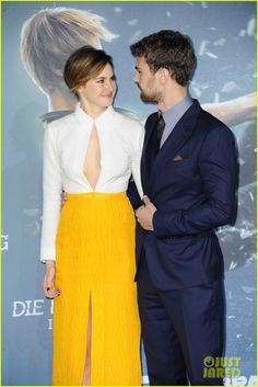 Shailene Woodley & Theo James Bring 'Insurgent' To Berlin | shailene woodley theo james insurgent germany premiere 11 - Photo