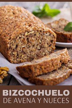 Pan Dulce, Healthy Banana Bread, Banana Bread Recipes, Healthy Diet Recipes, Cooking Recipes, Healthy Eating, Eat Fat, Proper Nutrition, Special Recipes