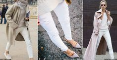 Proof You Can Wear White Jeans In Winter | sheerluxe.com