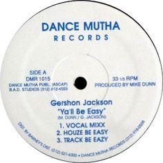 Gershon Jackson - Ya'll Be Easy