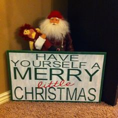 Have yourself a merry little Christmas by dibbledabble123 on etsy