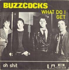 "Buzzcocks - What Do I Get?/Oh Shit 7"", Belgium 1978"