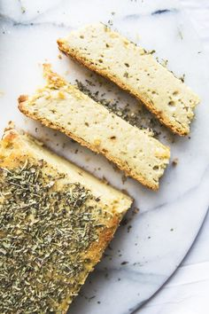 Baked Herbed Cashew Cheese