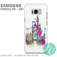 Disney Castle - Z Phone Case for Samsung Galaxy S8 & S8 Plus - JARCASE